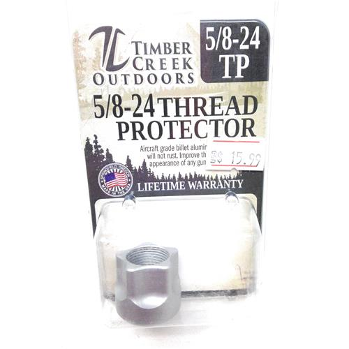 TIMBER CREEK OUTDOORS 5/8-24 THREAD PROTECTOR SILVER IF010275N