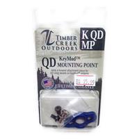 TIMBER CREEK - KeyMod - QUICK DETACH MOUNTING POINT - BLUE IF010082N