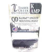TIMBER CREEK KEYMOD ANGLED MOUNTING POINT, BLACK - K AMP IF010129N