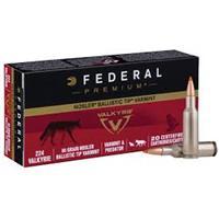 Federal Premium Varmint Ammunition 224 Valkyrie 60 Grain Nosler Ballistic Tip IF03195N