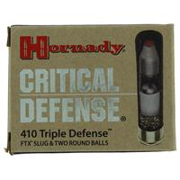 "Hornady Critical Defense Ammunition 410 Bore 2-1/2"" IF037645N"