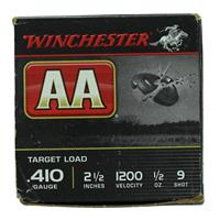 "Winchester AA Target .410 2-1/2"" #9 Shot 1/2oz IF037654N"