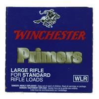 Winchester Primers Large Rifle, 1 Pack of 100 Primers IF037656N