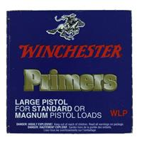 WINCHESTER LARGE MAGNUM OR STANDARD PISTOL PRIMERS 100  BOX IF037657N