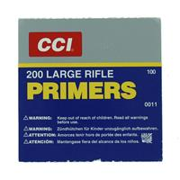 CCI Primers 200 Large Rifle Primer, 1 Box of 100 Primers IF037658N