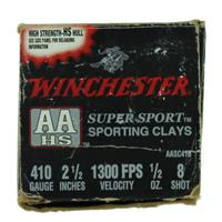 "Winchester AA Super Sport 410 2-1/2"" #8 1/2 oz 25 Rd Box IF037660N"