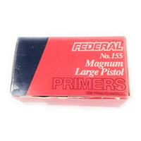 Federal Large Pistol Magnum Primers #155 IF037673N