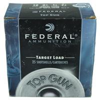 "Federal Top Gun Target 12 Gauge Ammunition 25 Rounds 2-3/4"" #7.5 Lead Shot 1-1/8 Ounce 1145fps IF038029N"