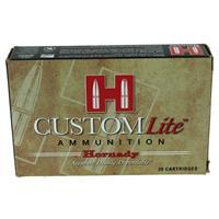 Hornady .270 Winchester Custom Lite Ammunition, 20 Rounds, SST, 120 Grains IF038033N