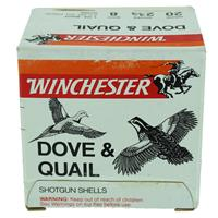 "Winchester Dove & Quail 20ga. 2-3/4"" 8 Shot 1oz shot IF038039N"