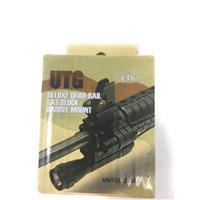 AR-15 Gas Block Picatinny Quad Rail UTG Replaces Existing Gas Block IF07497N