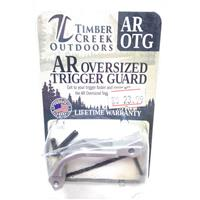 TIMBER CREEK OUTDOORS OVER SIZED TRIGGER GUARD SILVER - US MADE IF09949N