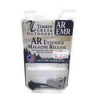 TIMBER CREEK OUTDOORS - CERAKOTE SILVER - EXTENDED MAGAZINE RELEASE - EMR IF09959N