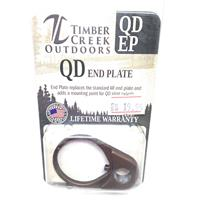 TIMBER CREEK OUTDOORS QUICK DISCONNECT END PLATE BURNT BRONZE IF09969N