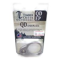QD Quick Detach End Sling PLATE Swivel Mount SILVER Timber Creek Outdoors QDEP IF09981N