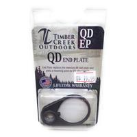 TIMBER CREEK OUTDOORS QUICK DETACH END PLATE - CERAKOTE TUNGSTEN - QD EP IF09999N